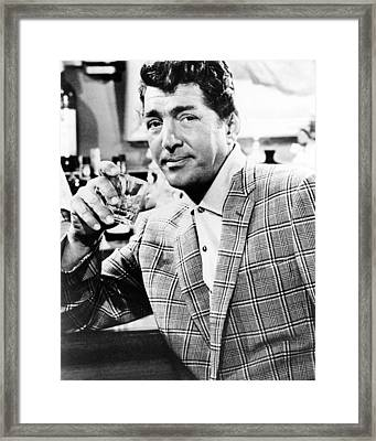 Dean Martin In Kiss Me, Stupid  Framed Print by Silver Screen