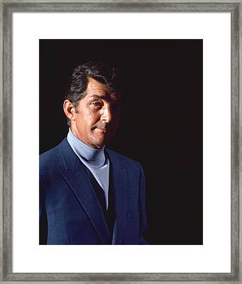 Dean Martin In The Silencers Framed Print