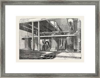Dean Mills, The Four Engines Framed Print