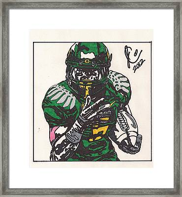 De'anthony Thomas Framed Print