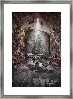 Dear Agony Framed Print by Evelina Kremsdorf