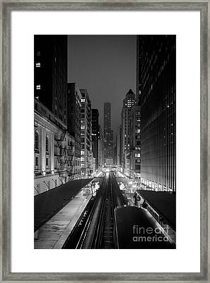 Dear Chicago You're Beautiful Framed Print by Peta Thames