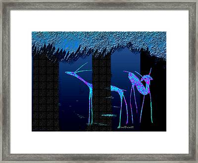 Dear Park 2 Framed Print by Asok Mukhopadhyay