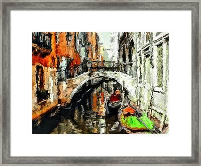 Dear Venice Framed Print by Yury Malkov