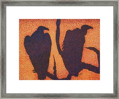 Death At Dusk Framed Print by Jeremy Moore