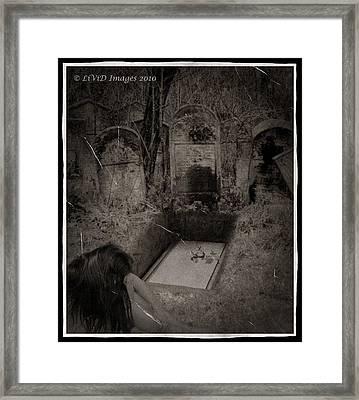 Death Becomes Her Framed Print