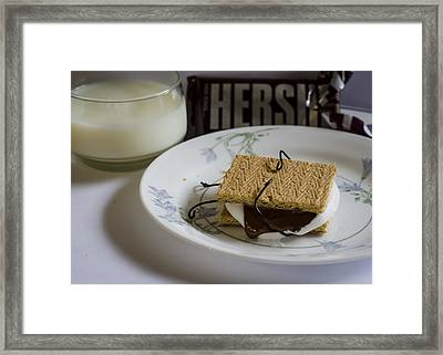 Death By Chocolate Framed Print by Heather Applegate