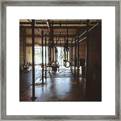 Death By Deadlifts Framed Print