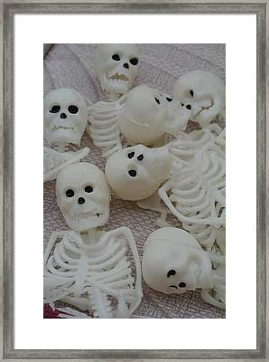 Death By Numbers Framed Print