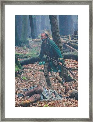Death In The Forest Framed Print