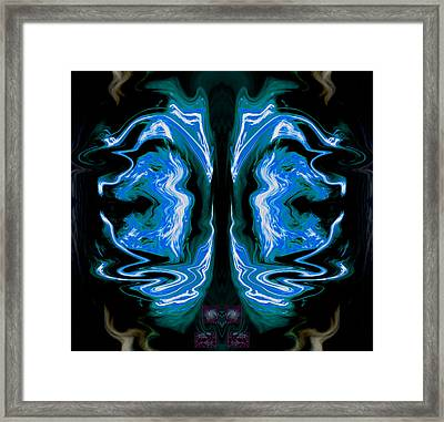 Death Mimics Its Own Fear 2013 Framed Print by James Warren