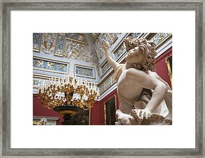 Death Of Adonis - The Hermitage Museum - St. Petersburg Framed Print by Madeline Ellis