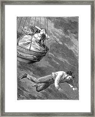 Death Of Thomas Harris Framed Print by Science Photo Library