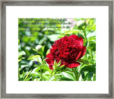 Death Shall Be No More Framed Print by Deena Stoddard