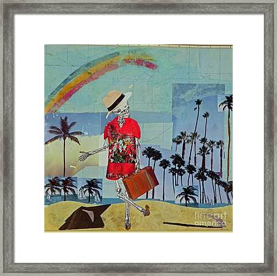 Death Takes A Holiday Framed Print