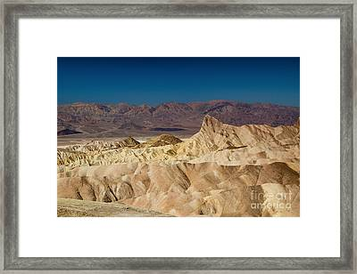 Death Valley Framed Print by Andreas Tauber