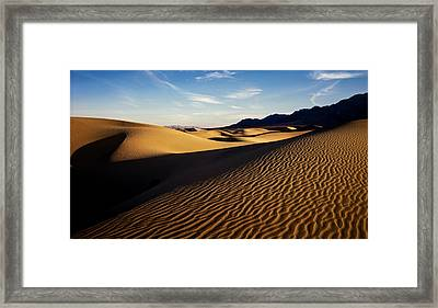 90123 Death Valley Framed Print