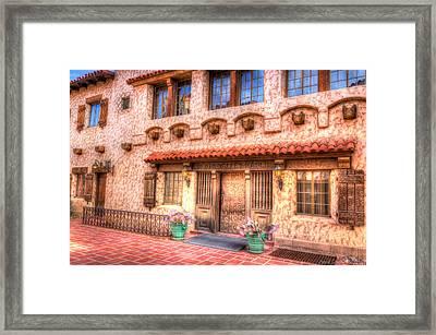 Death Valley Ranch Framed Print by Heidi Smith