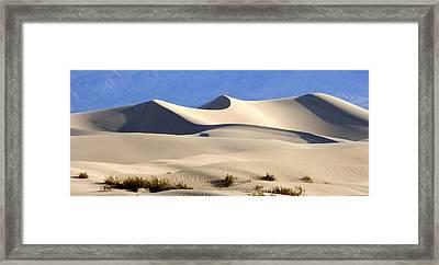 Death Valley Sand Dunes Framed Print
