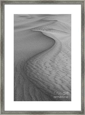 Death Valley Sand Dunes Framed Print