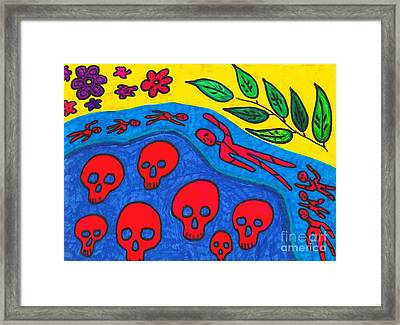 Death Watch Framed Print