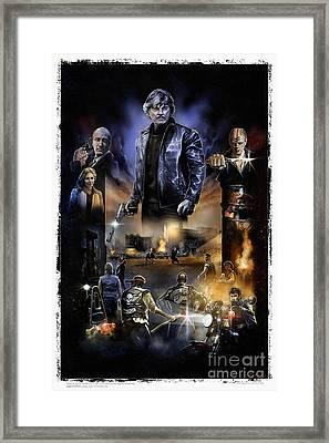 Death Wish 3 Framed Print by Gerardo Moreno