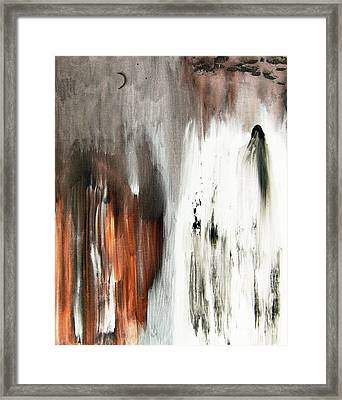 Framed Print featuring the painting Deathless by Christine Ricker Brandt