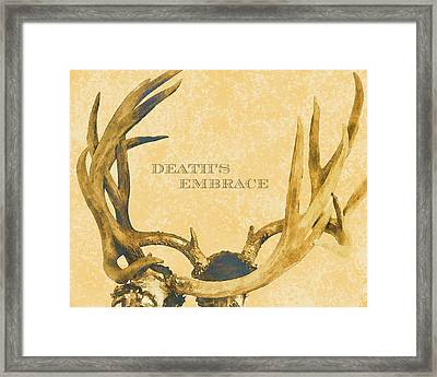 Death's Embrace Framed Print by Paul Ashby Antique Image