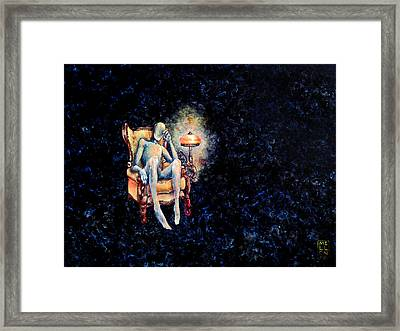 Deaths Waiting Room Framed Print