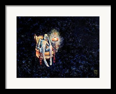 Outsider Paintings Framed Prints