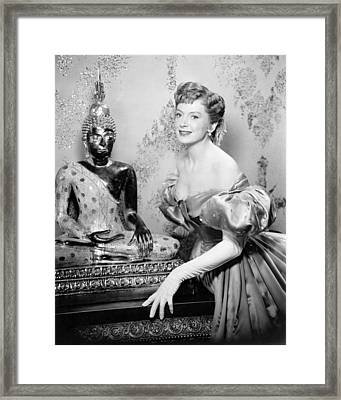 Deborah Kerr In The King And I  Framed Print