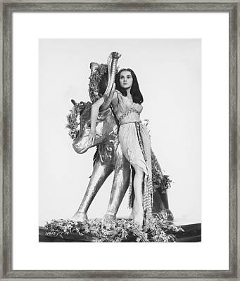 Debra Paget In The Ten Commandments Framed Print