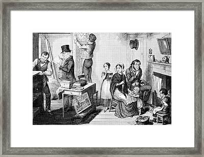 Debt Collection Framed Print by British Library