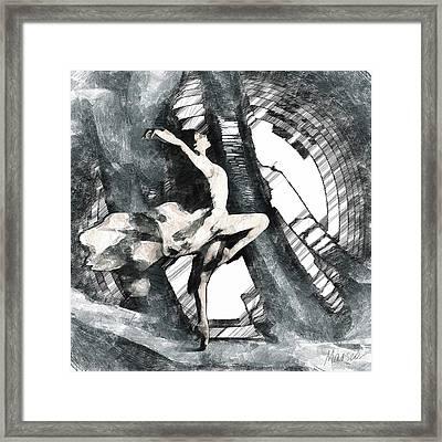 Debut Framed Print by Marina Likholat