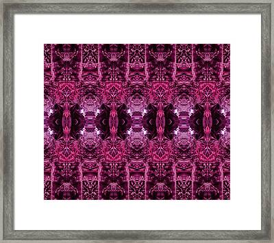 Decalcomaniac Wallpaper Framed Print by Otto Rapp