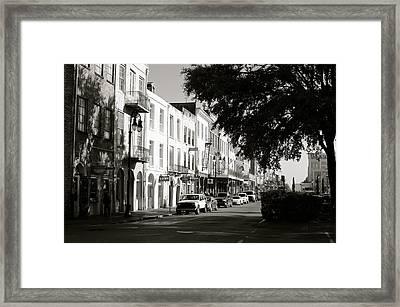 Decateur St. Framed Print by Eric Dewar