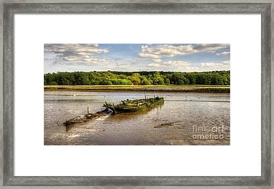 Decay Boats Framed Print by Svetlana Sewell