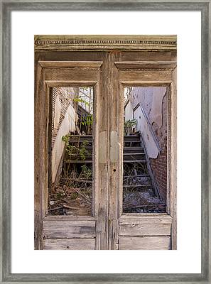 Decaying History Framed Print