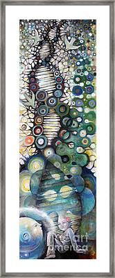 Decedent Framed Print by Manami Lingerfelt