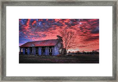 December At Bristol Park Framed Print