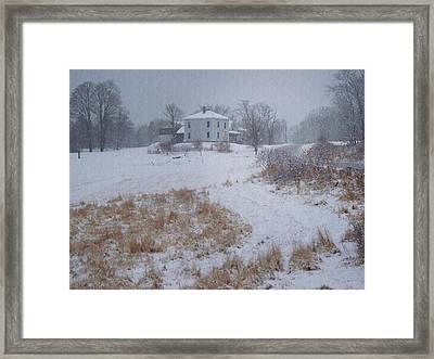 December Framed Print by Joy Nichols