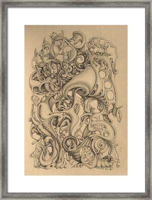 December Framed Print by Mikhail  Riabtsovski