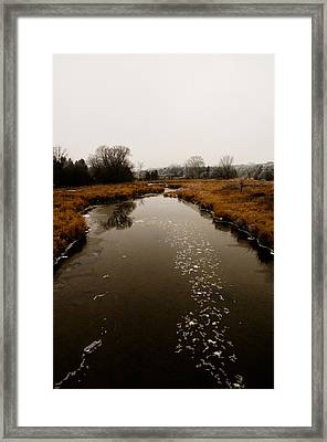 December River Framed Print by BandC  Photography