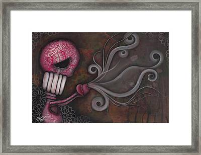 Deception Framed Print