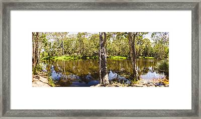 Deception Bay Creek Framed Print by Jorgo Photography - Wall Art Gallery