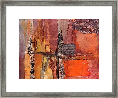 Deception Framed Print by Buck Buchheister
