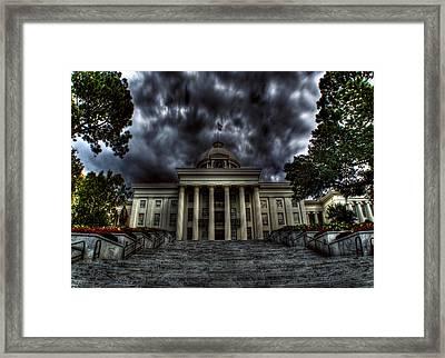 Deception Framed Print by Christopher Lugenbeal