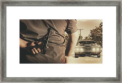 Deception In The Bay Parking Framed Print by Jorgo Photography - Wall Art Gallery