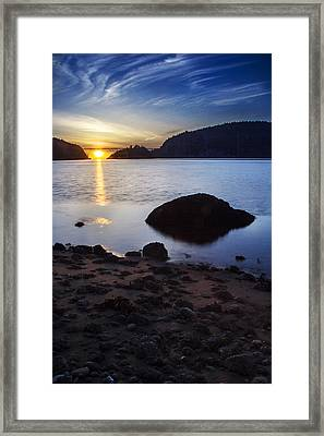 Deception Pass 3 Framed Print