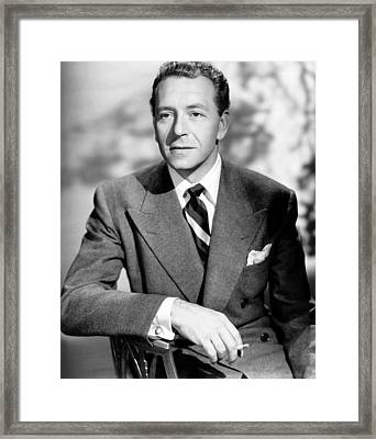 Deception, Paul Henreid, 1946 Framed Print by Everett